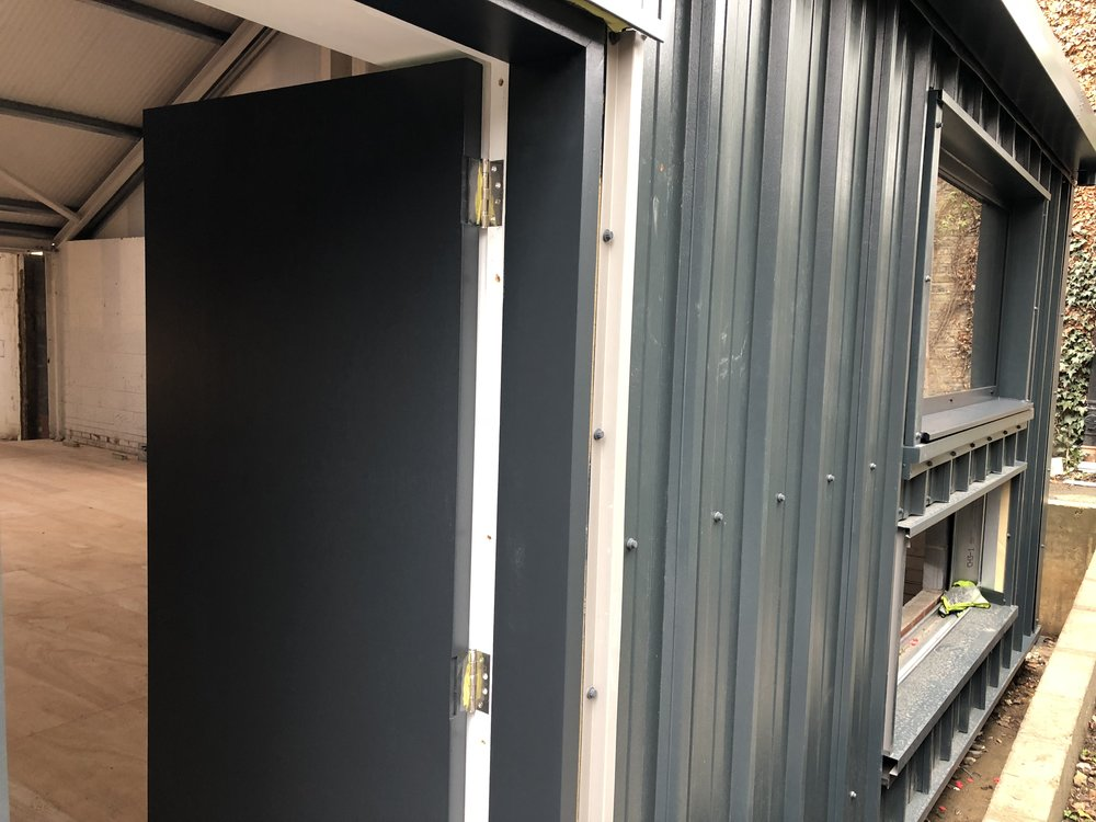 Outside wall cladding