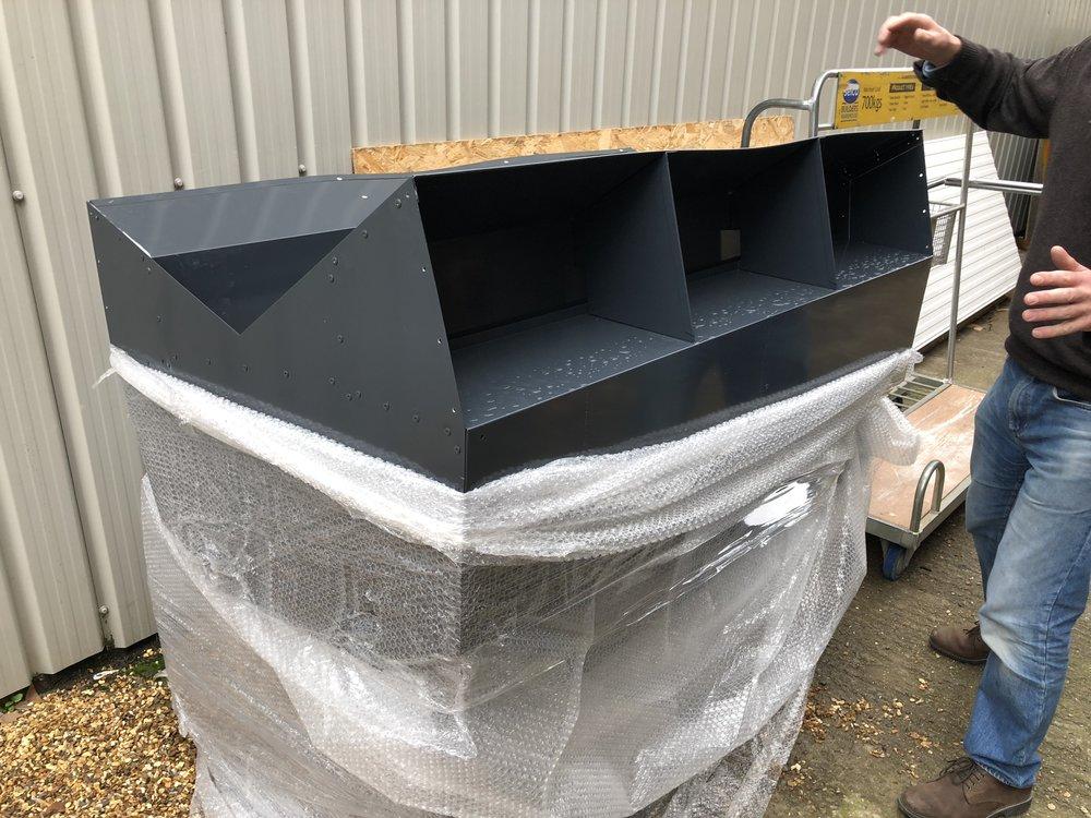 Roof ventilation units