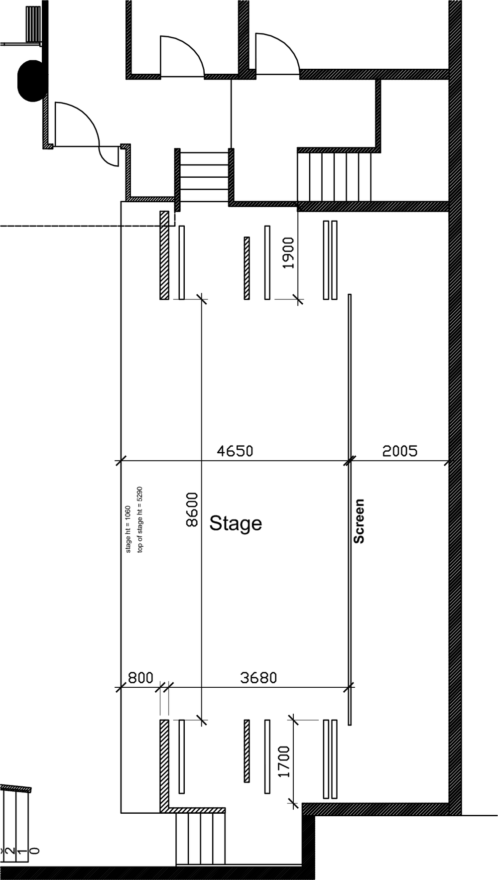 Stage Dimensions