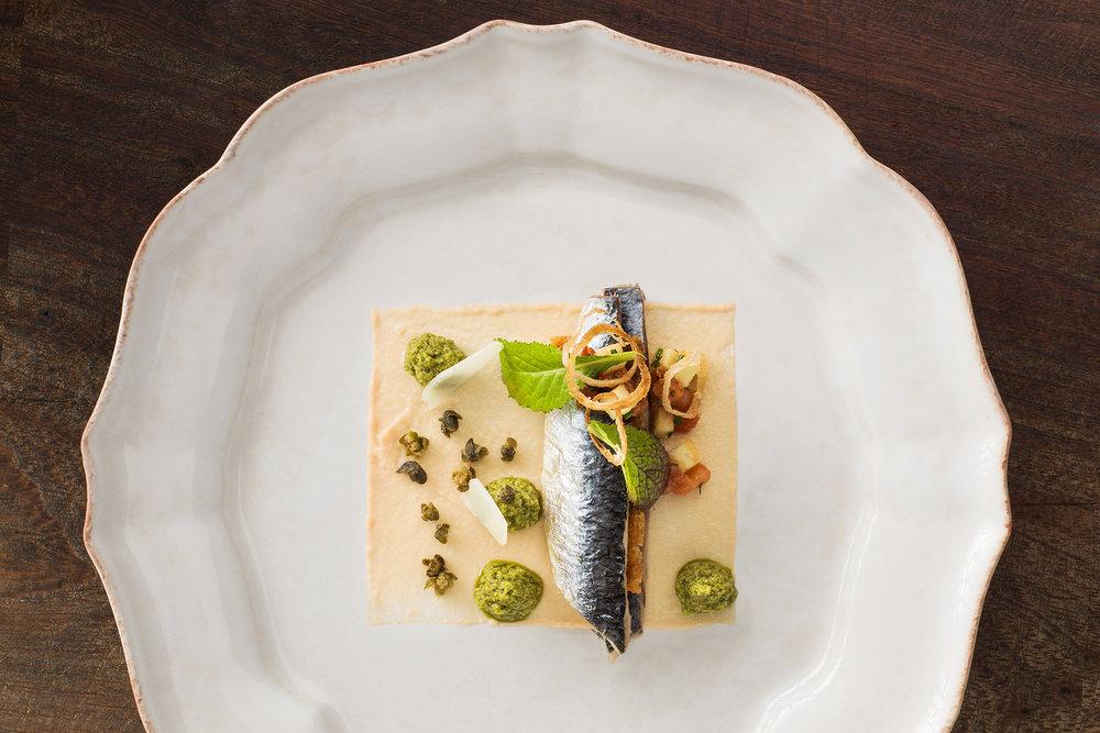 Yorke Arms. Food - Frances Atkins