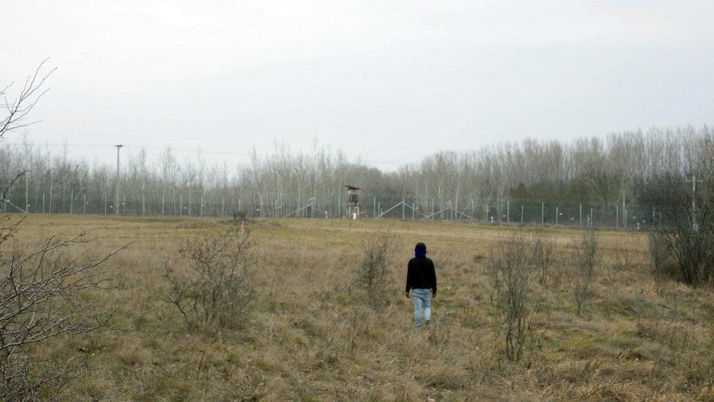 Durrab (16) bij de grens tussen Servie en Hongarije.