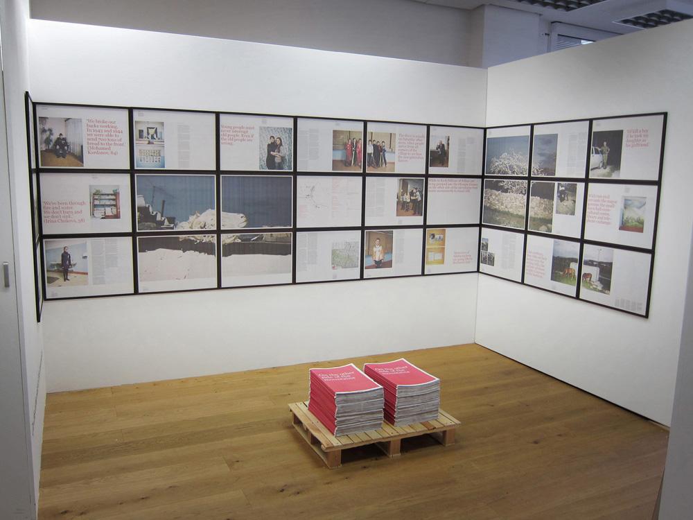 On the Other Side of the Mountains: een documentaire krant en uitvouwbare tentoonstelling van The Sochi Project. Bekroond met de Canon Prijs voor Innovatieve Journalistiek.