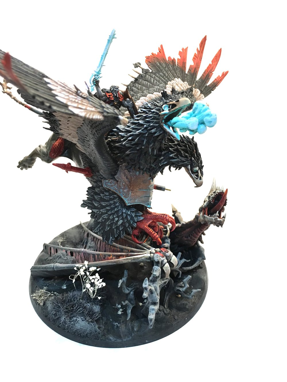 Finished: Empire Griffon as Zombie Dragon