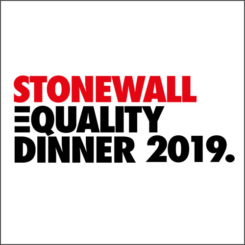 STONEWALL EQUALITY GALA, SUPPORTED BY AVIVA - Thursday, March 14th 2019Sheraton Grand, Park Lane, London