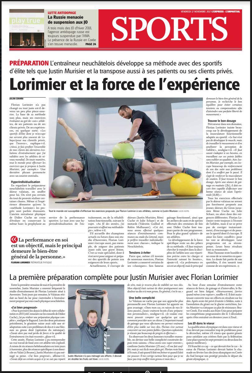L'Express - vendredi 17 novembre, 2017