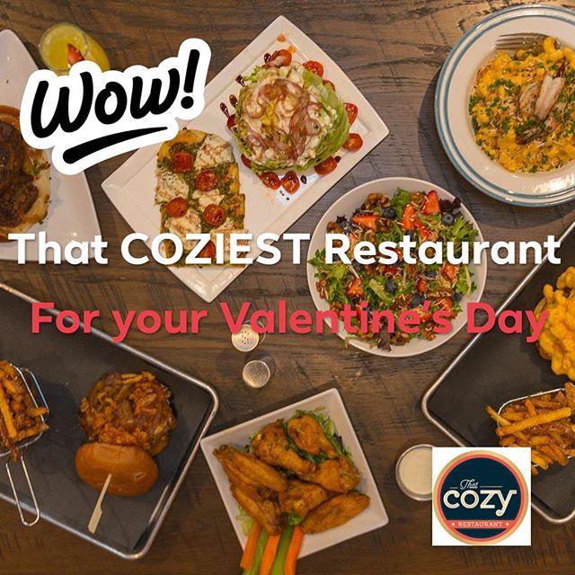 Still looking for the perfect Valentine's gift for your sweetheart? Spend some COZY time #thatcozyrestaurant ❤️. —————————————————————————#gastropub #merrittisland #melbournefl #melbourneflorida #viera #vierafl #rockledge #brevardcounty #brevard #florida #spacecoast #foodporn #thatcozyrestaurant #freshfood #localingredients #321flavor #foodgod