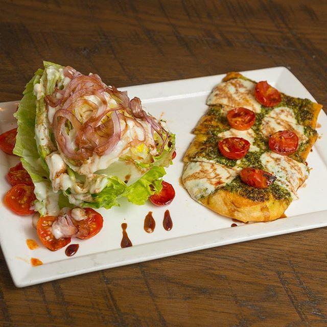 Lunch Combo. Next 2 new flatbread recipes.... YES!!!!! ————————————————— #gastropub #merrittisland #melbournefl #melbourneflorida #viera #vierafl #rockledge #brevardcounty #brevard #florida #spacecoast #foodporn #thatcozyrestaurant #freshfood #localingredients #321flavor #food-god