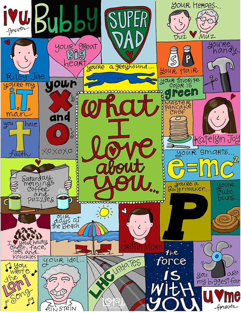 What I Love About You Collage