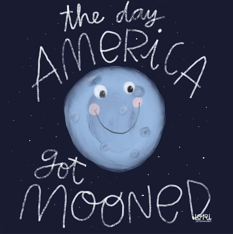 Mooning of America
