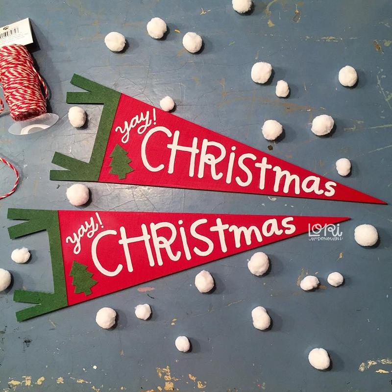 Christmas Pennants