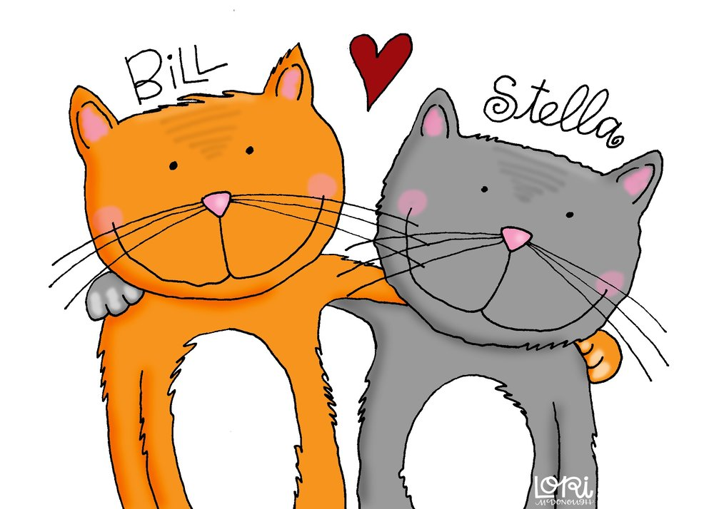 Bill and Stella