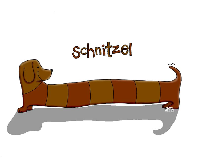 Schnitzel Dog