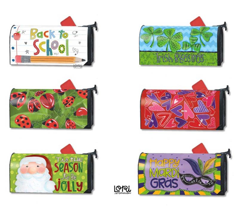 Studio M Mailbox Wrap Collection