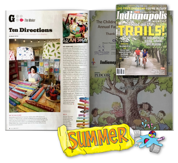 Indy Monthly Magazine Feature