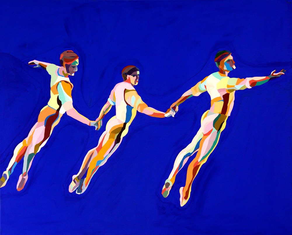 Three-Male-Dancers_1,250-USD-20x16-in.-acrylic-and-gouache-on-canvas-2015-1-C-Finley-Art.jpg