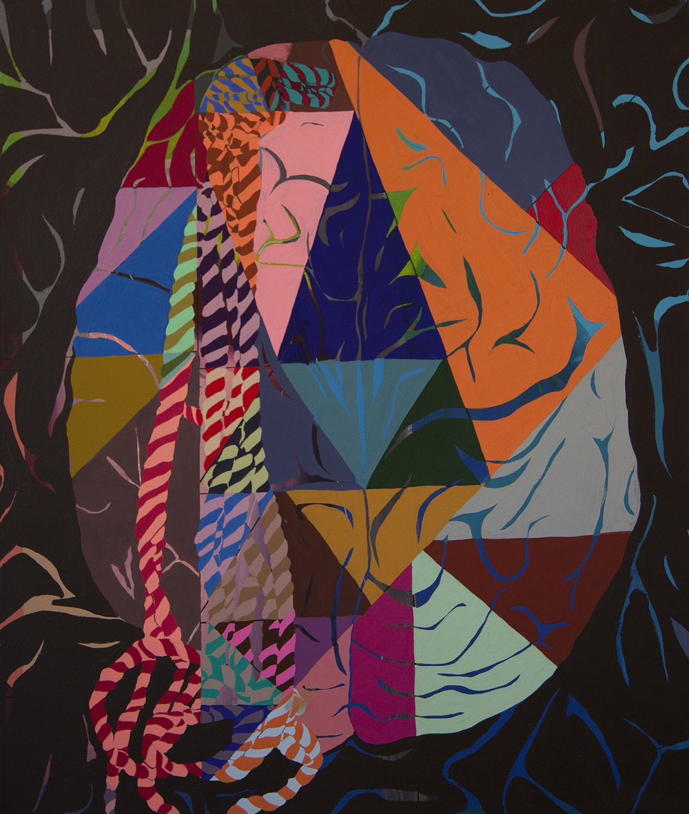 Brain-Party-Rope-Escape-24x28in-or-70x100cm-acrylic-and-gouache-on-canvas-2013-HIRES-C-Finley-Art.jpg