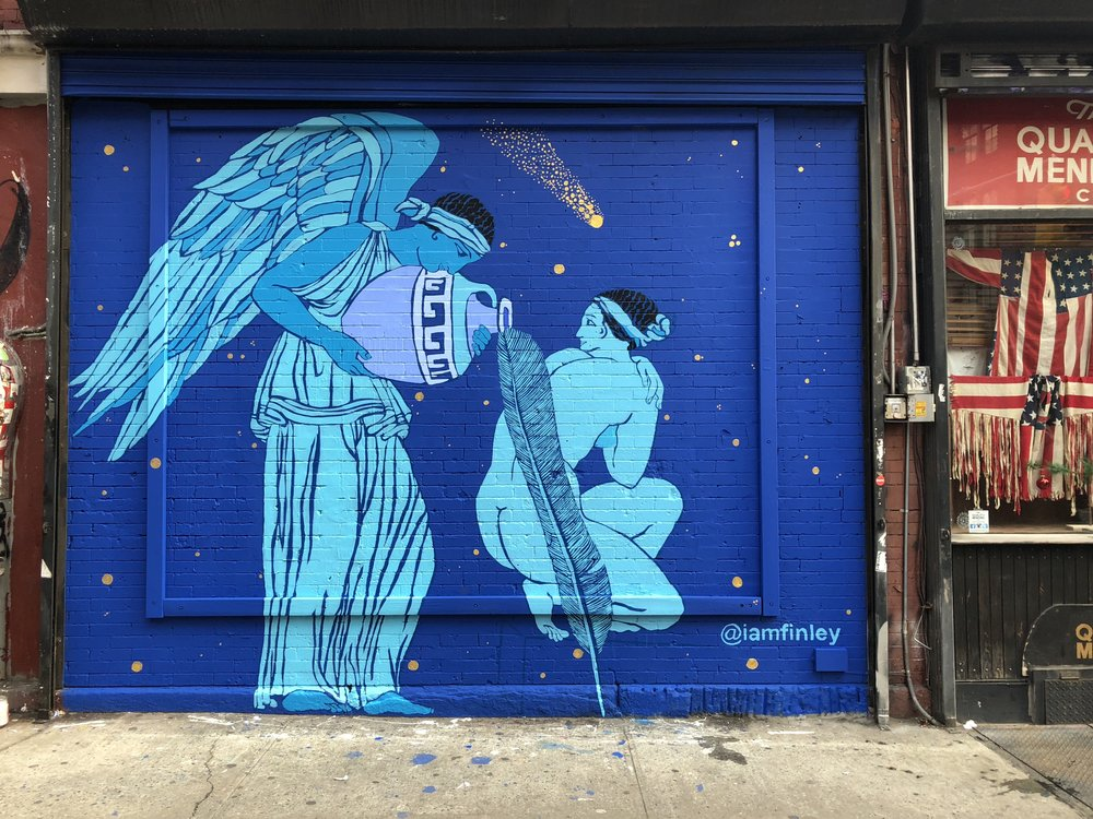 WingBearer Mural SoHo NYC