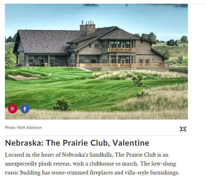 The Lodge at The Prairie Club -