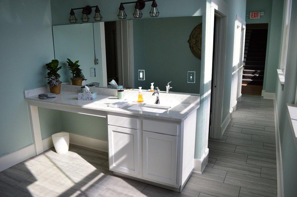 Photo of bathroom space