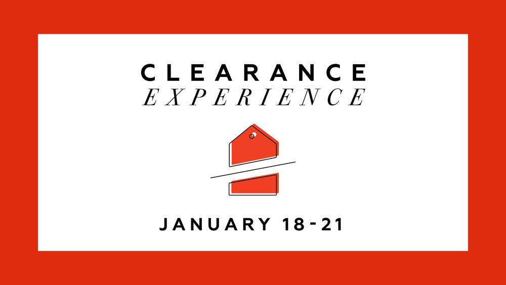January Clearance Experience Galleria