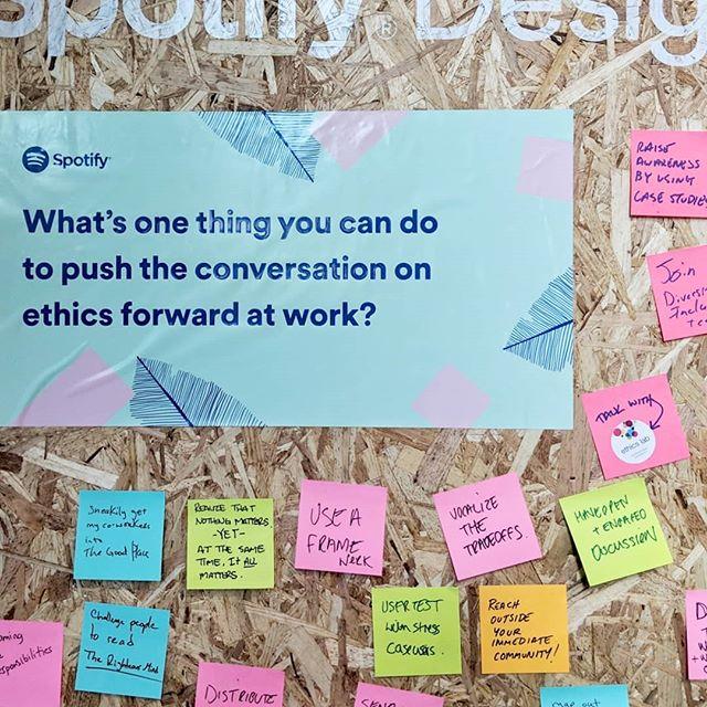 We've got an idea... 😏 // ✉️ethicslab@georgetown.edu . . . #ixd19 #designforgood #ethicseducation