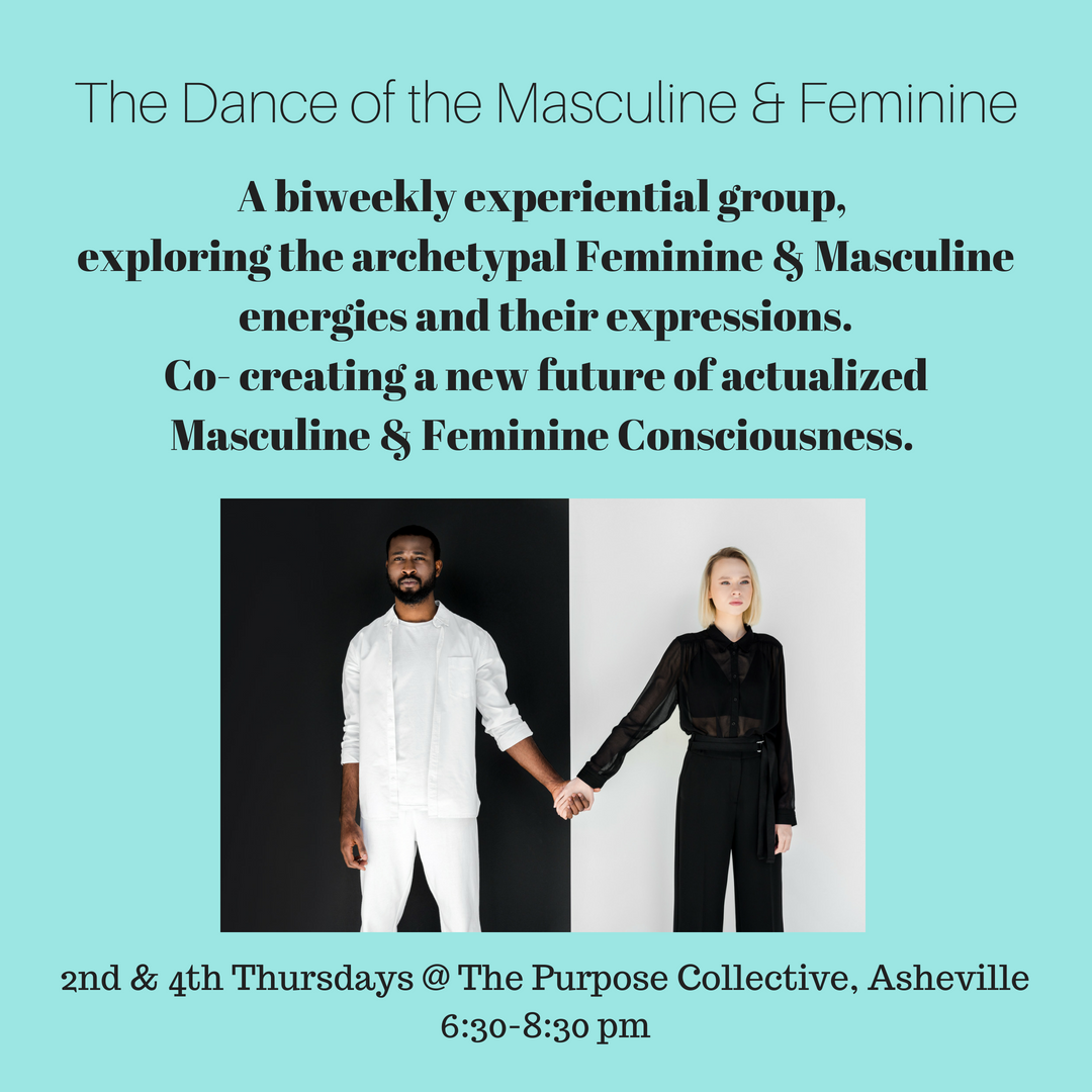 The Dance of the Masculine/Feminine - Biweely group begins