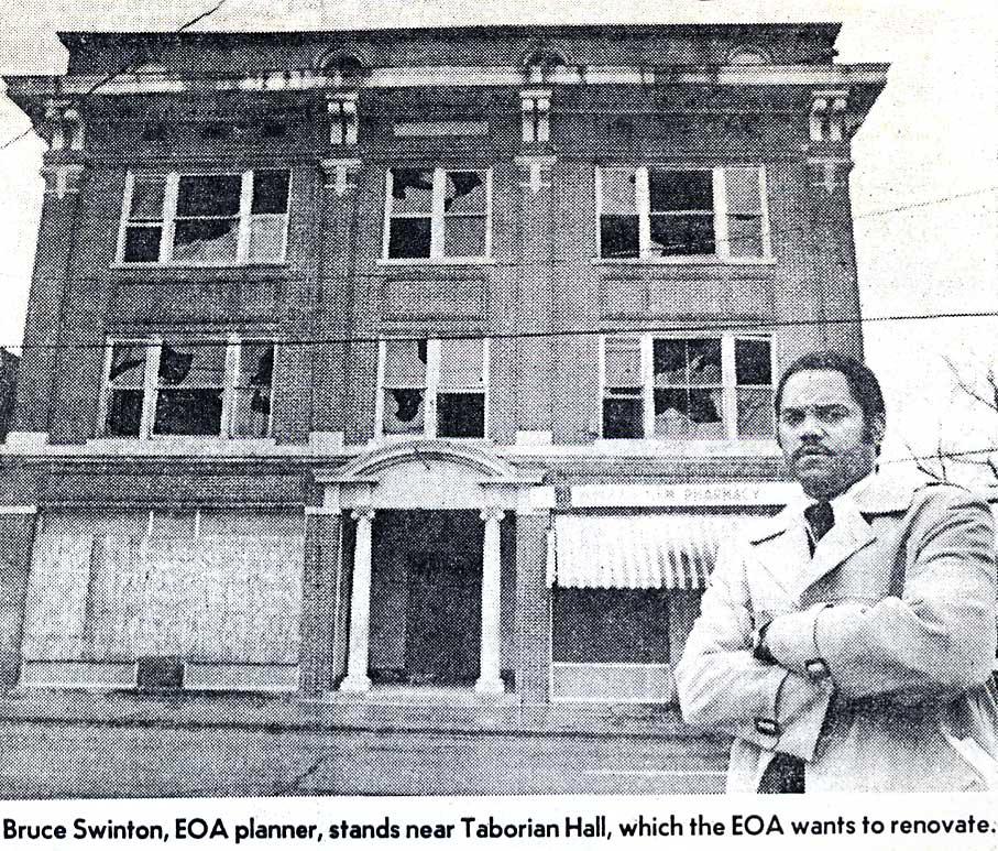 Bruce Swinton, EOA Planner
