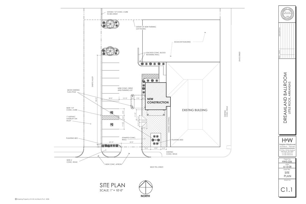 Site Plan… the DREAM