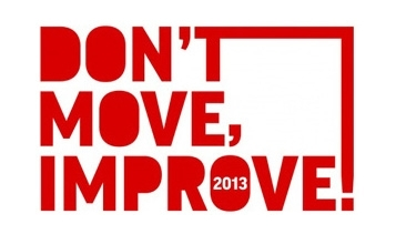 Don't Move Improve 2013 Shortlist