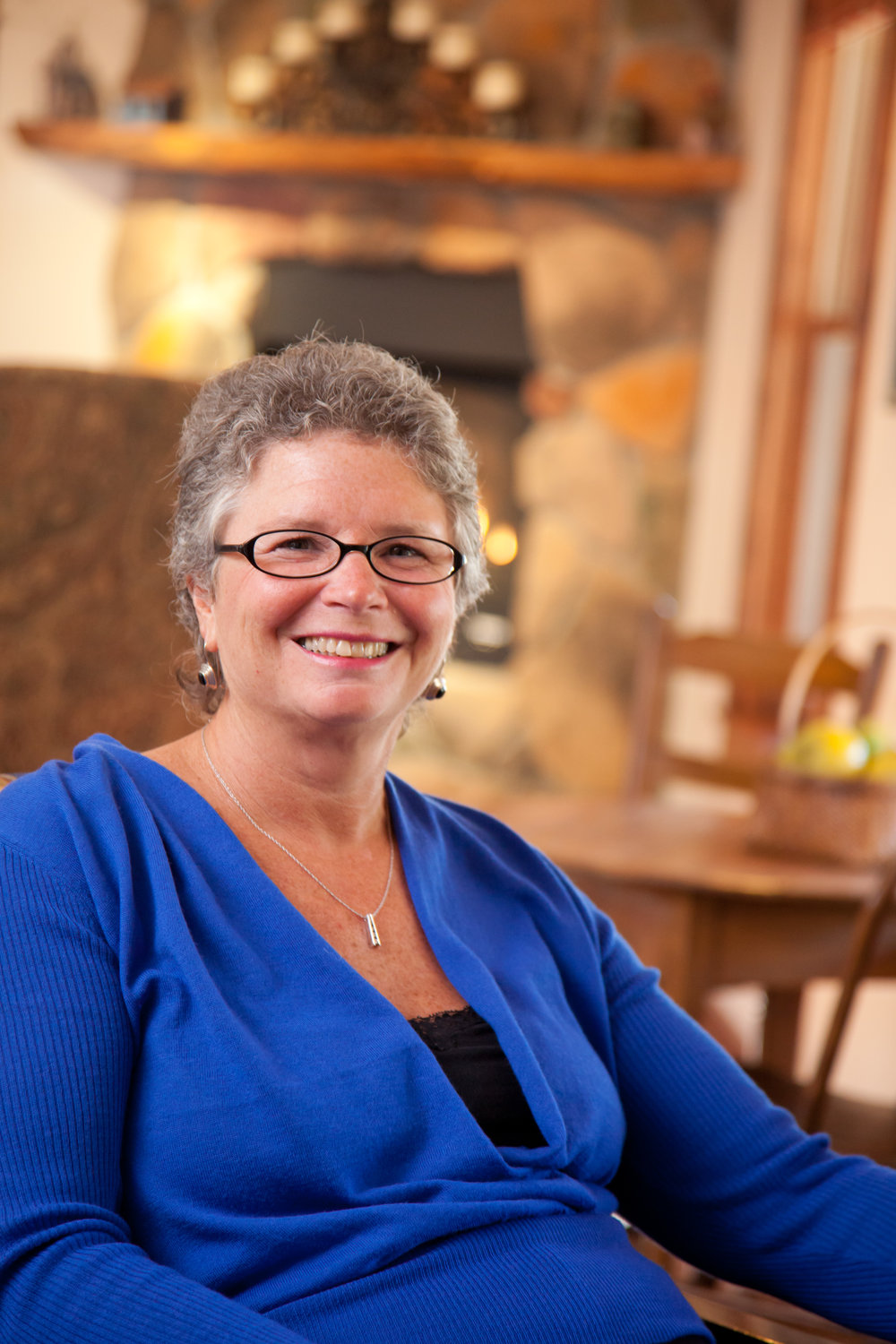 Ellen Grinsfelder    Innkeeper/Owner, the Inn & Spa at Cedar Falls