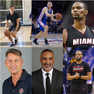 NBA TALENT   Players | Coaches Steve Nash, Chris Bosh, Nick Stauskas, Phil Weber, Phil Handy + Irv Roland