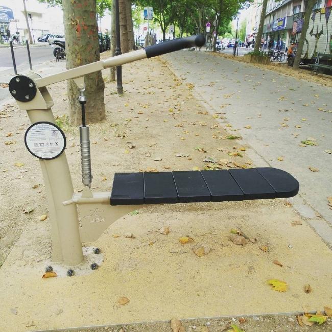 Une merveille de street-workout parisien.