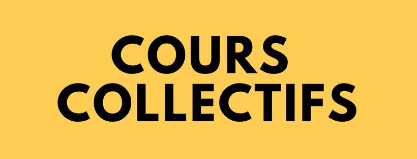 Cours semi-collectifs - 1 séance : 15 euros5 séances : 70 euros10 séances : 120 euros
