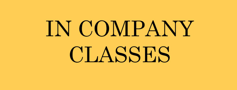 In company classes  - 1 class : 200 euros10 classes : 1750 euroslong duration  : 150 euros for one class