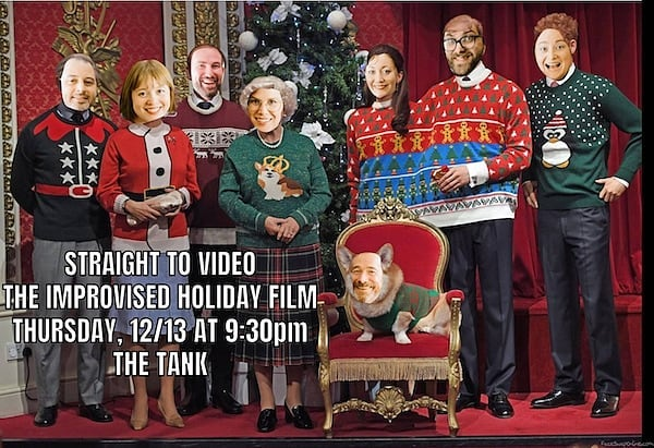 From our family to yours: see you tonight for The Improvised Holiday Movie!