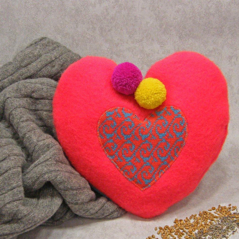 Coral Heart Wheat bag.jpg