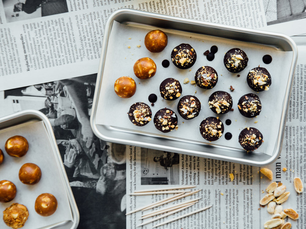 chocolate-covered-peanut-bites