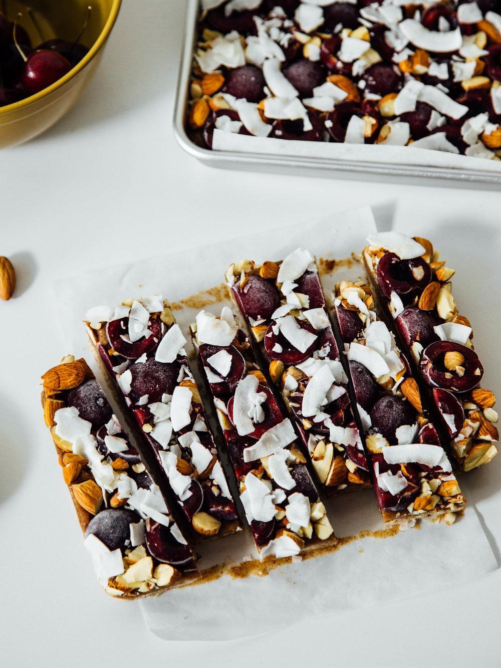 cherry-almond-butter-caramel-bars