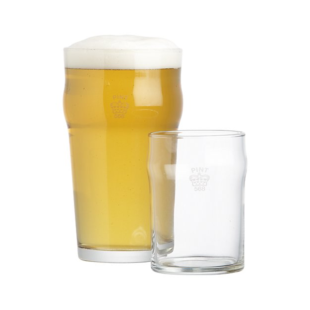 1/2 PINT + PINT GLASSES