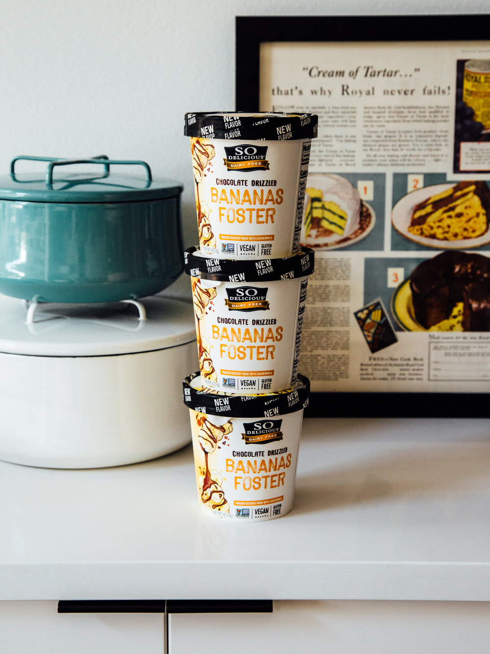 chocolate-banana-sundaes-with-homemade-waffle-bowls