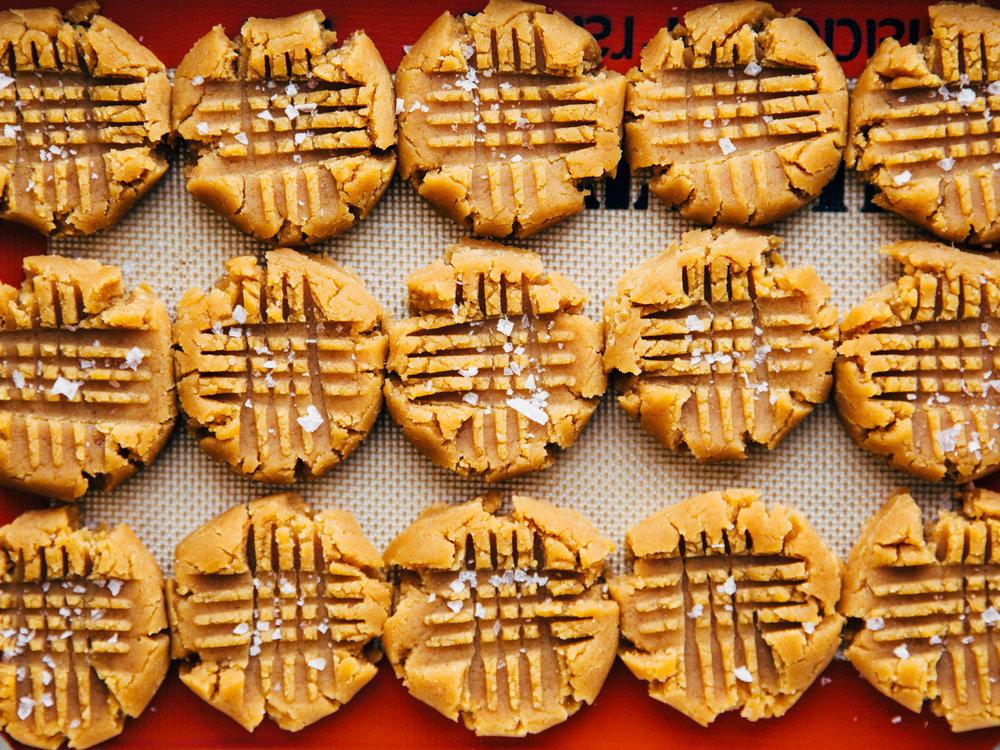 peanut butter freezer cookie dough