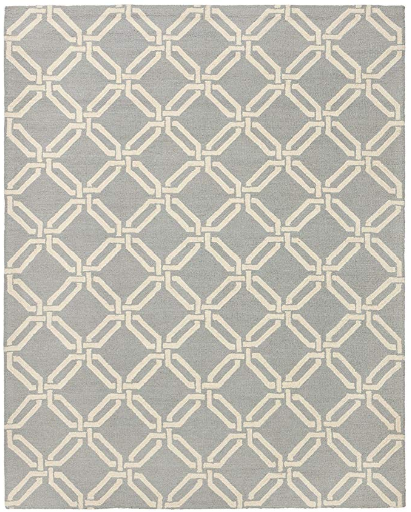 Interlocking Rings Rug  Comes in 4 colors and is a true classic.