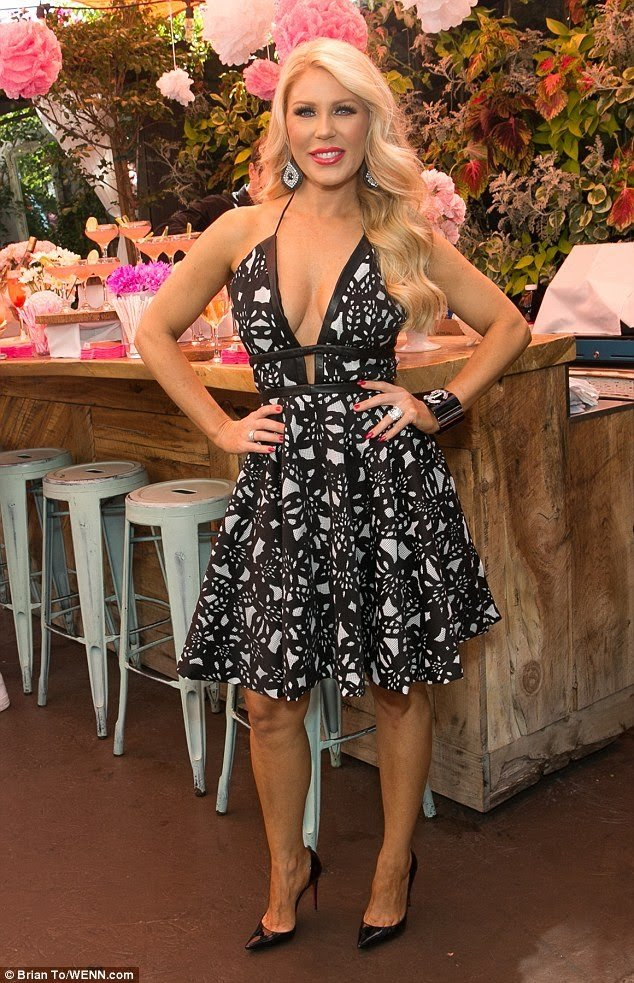 gretchen rossi   burn cookbook launch party 2018