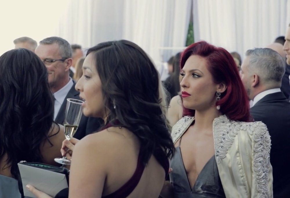 SHARNA BURGESS   EMMA SLATER & SASHA FARBER WEDDING 2018