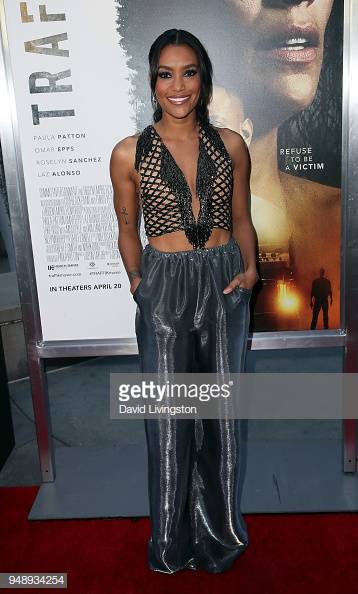 ANNIE ILONZEH   TRAFFIK MOVIE PREMIERE 2018