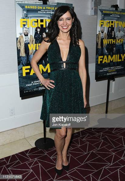 CHARLENE AMOIA   FIGHTING W/ MY FAMILY PREMIERE 2019