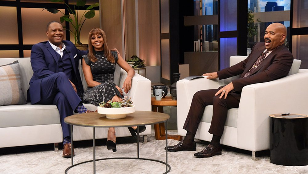 HOLLY ROBINSON PEETE   STEVE HARVEY SHOW 2019