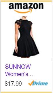 61d9116062cf SUNNOW Women's Sleeveless Lace Patchwork A Line Short Mini Casual Dress.JPG