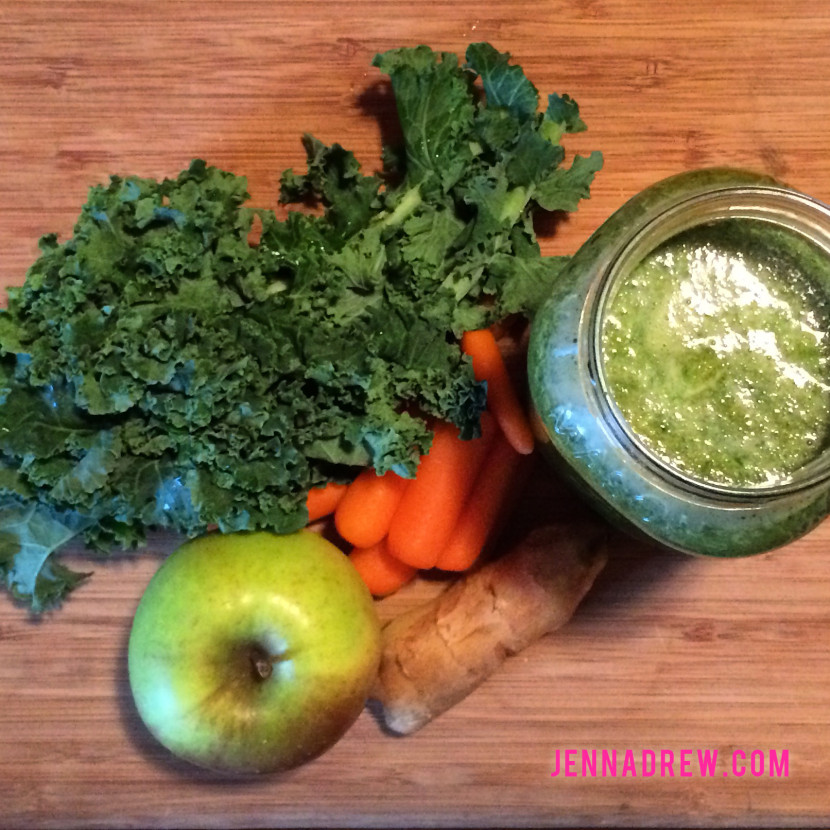 carrot-kale-smoothie