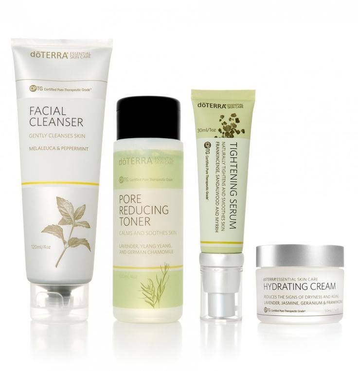 essential oil skin care set